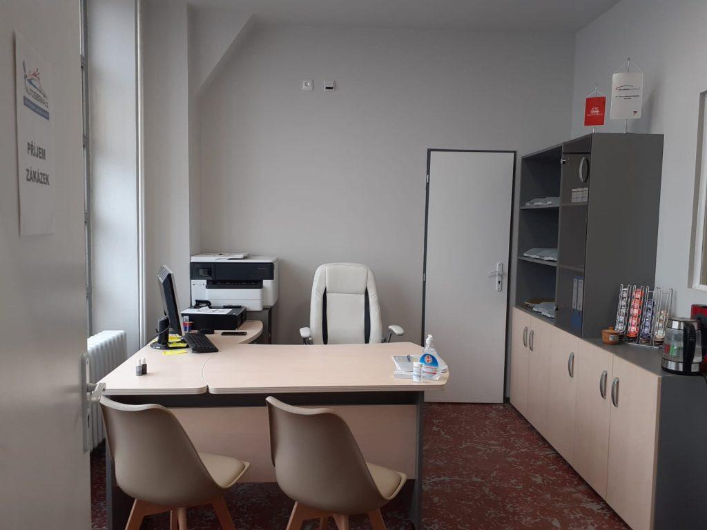 Kancelář lakovny 5