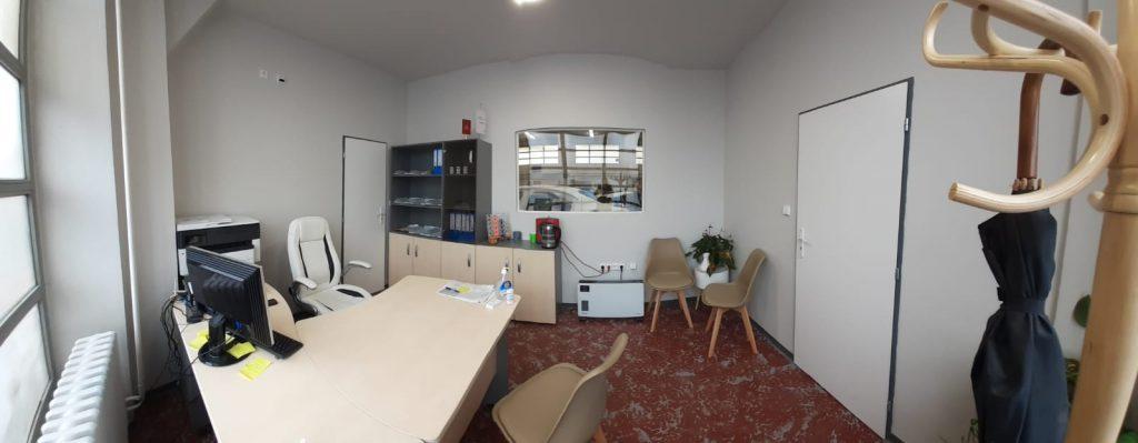 Kancelář lakovny 7